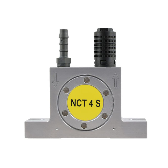 pneumatic turbine vibrator NCT 4S stainless steel by NetterVibration